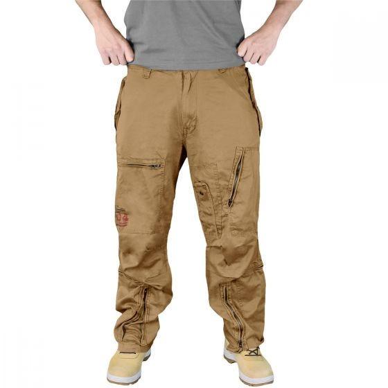 Surplus pantaloni cargo Infantry in Coyote