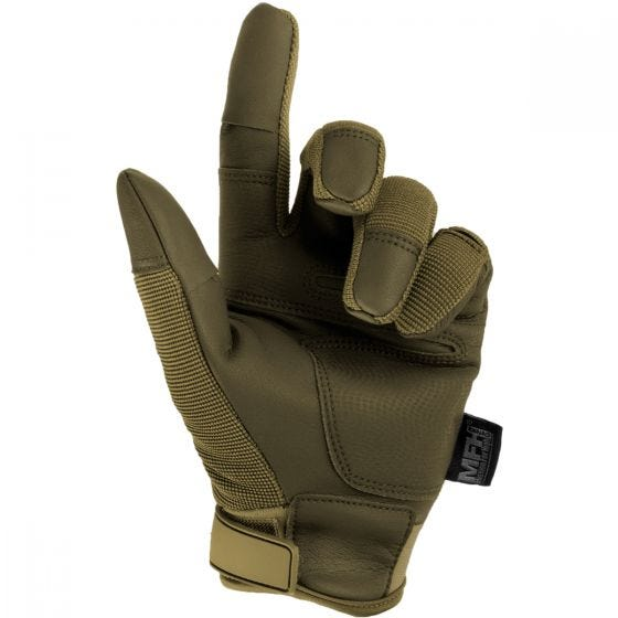 MFH guanti tattici Mission in Coyote Tan