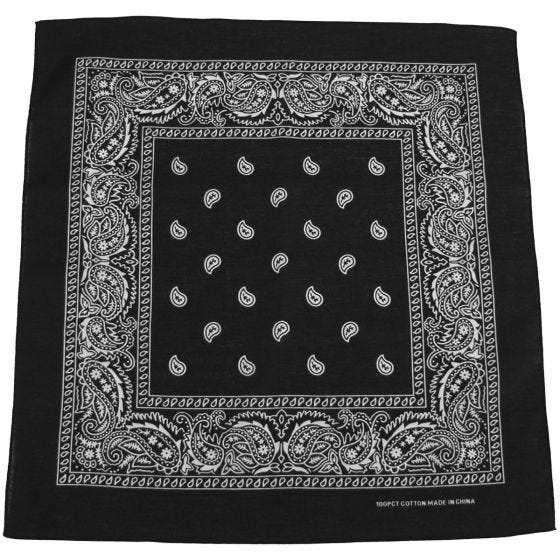 MFH bandana in cotone nero