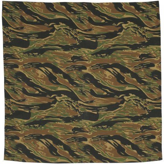 MFH bandana in cotone Tiger Stripe