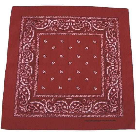 MFH bandana in cotone bordeaux