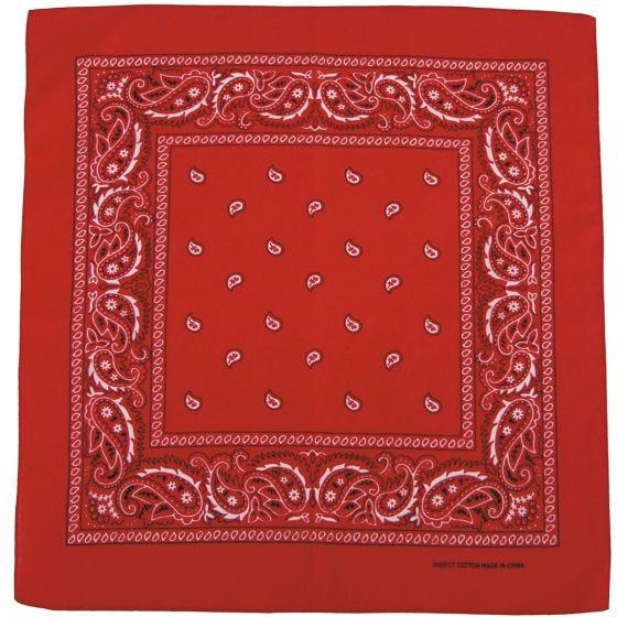 MFH bandana in cotone rosso