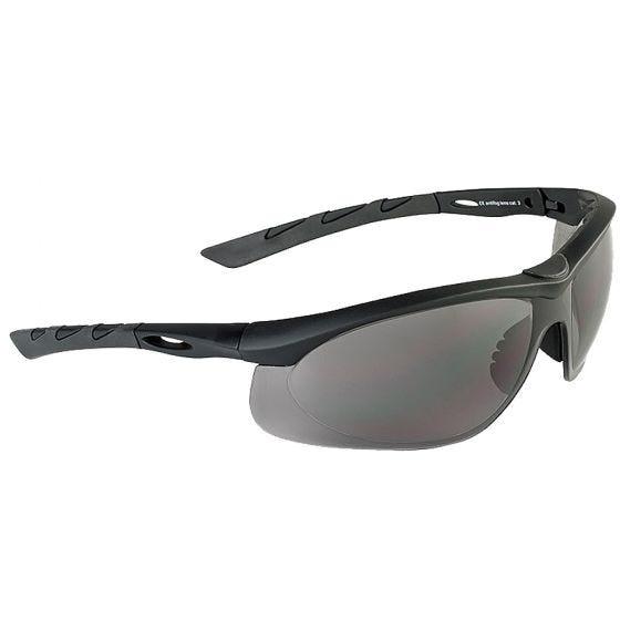 Swiss Eye occhiali da sole Lancer - lenti fumo / montatura in gomma nera