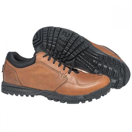 5.11 scarpe Pursuit Lace-Up in marrone scuro