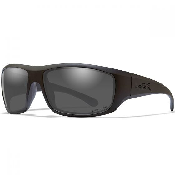 Wiley X WX Omega Glasses - Captivate Smoke Grey Lens / Matte Black Frame
