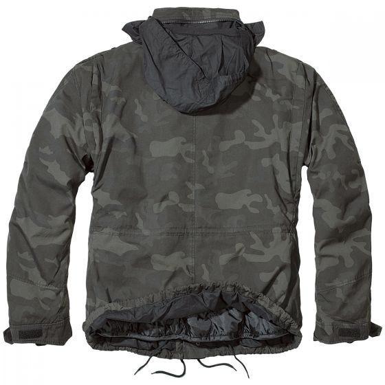 Brandit giacca Giant M-65 in Dark Camo