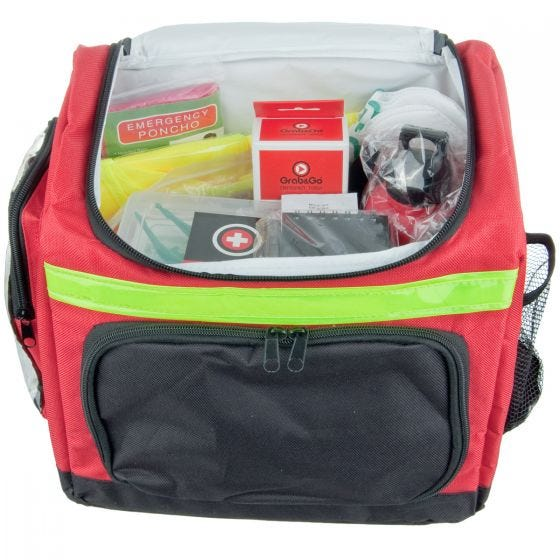 Grab&Go kit emergenza per 1 persona