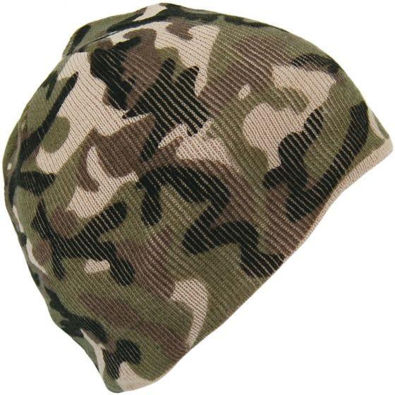Mil-Tec berretto acrilico in Woodland