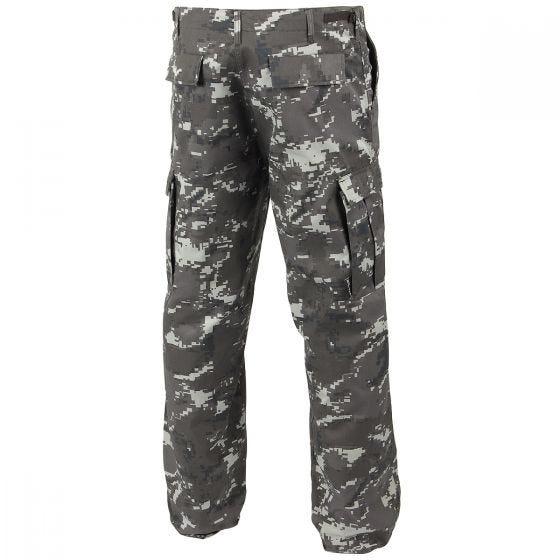 Mil-Tec pantaloni da combattimento Ranger BDU in Digital Black