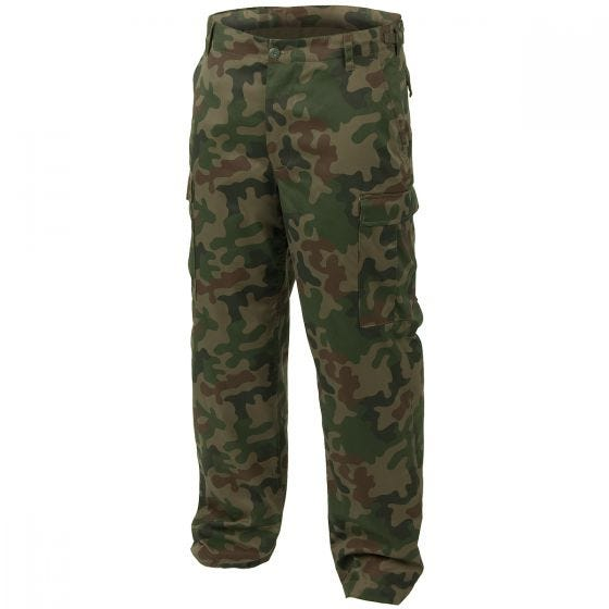 Mil-Tec pantaloni da combattimento Ranger BDU in Woodland polacco