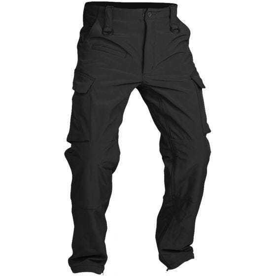 Mil-Tec pantaloni softshell Explorer in nero