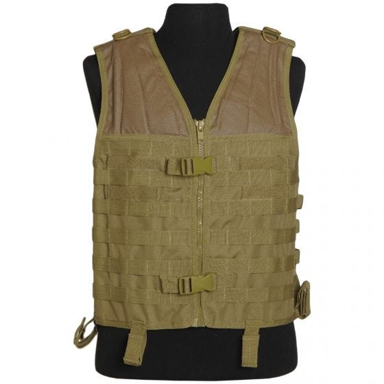 Mil-Tec gilet modulare MOLLE in Coyote