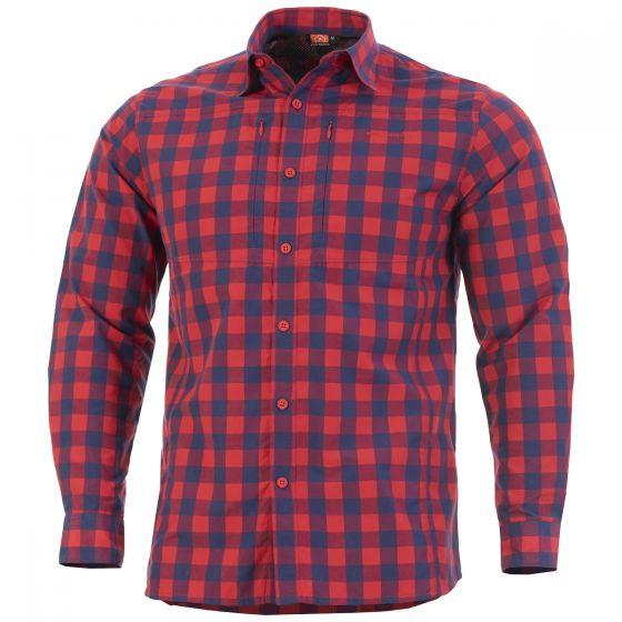 Pentagon camicia tattica QT in Red Checks