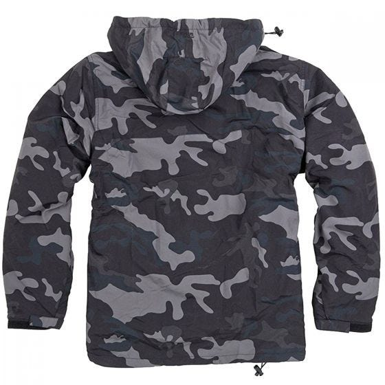 Surplus giacca a vento in Black Camo