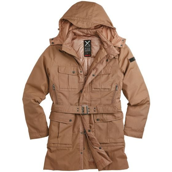 Surplus cappotto invernale Xylontum in cachi