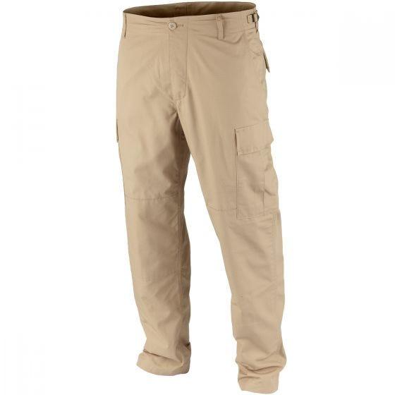 Teesar pantaloni BDU in ripstop in cachi