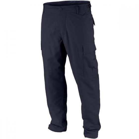 Teesar pantaloni BDU in ripstop in Navy Blue