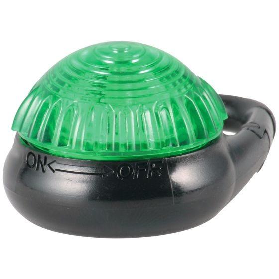 Adventure Lights Guardian luce con gancio Tag-It in verde