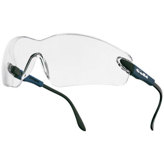 Bollé occhiali Viper II lente chiara montatura blu elettrico