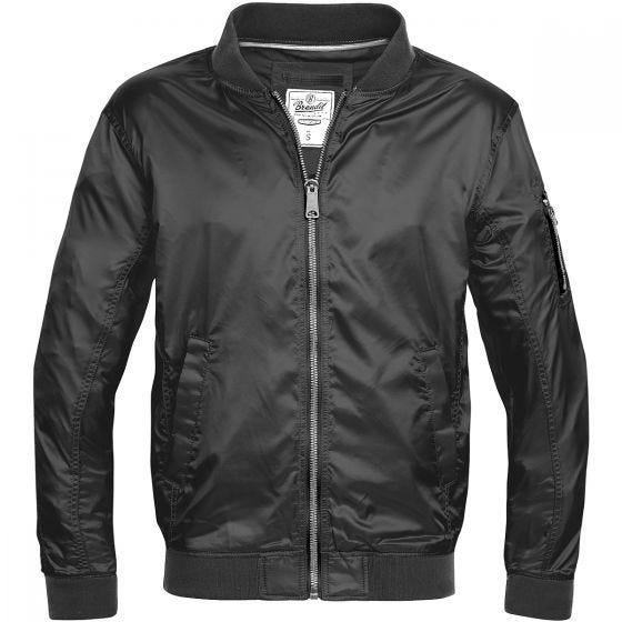 Brandit giacca Portland in nero