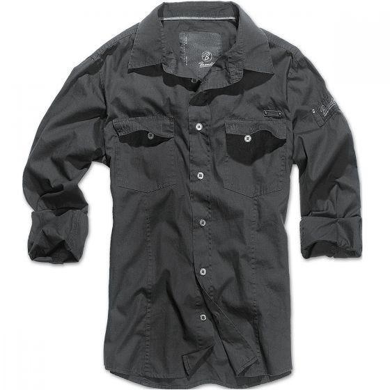 Brandit maglia taglio slim fit in nero