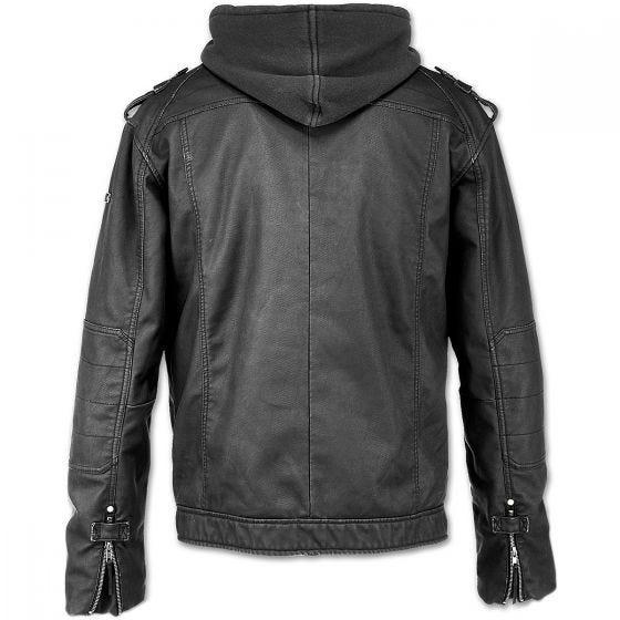 Brandit giacca Black Rock in nero