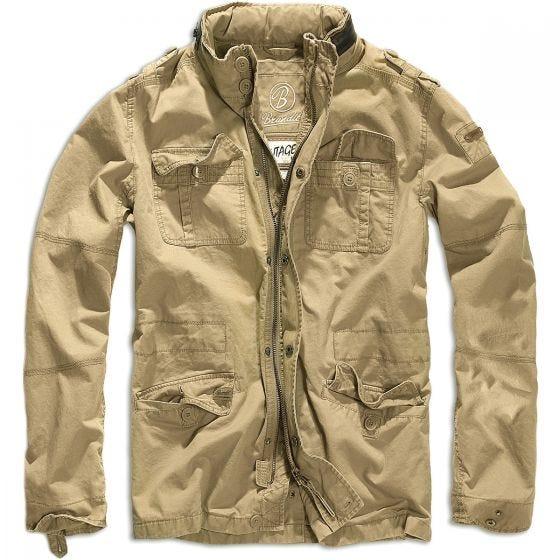 Brandit giacca Britannia in Camel