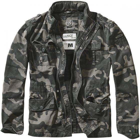 Brandit giacca Britannia in Dark Camo