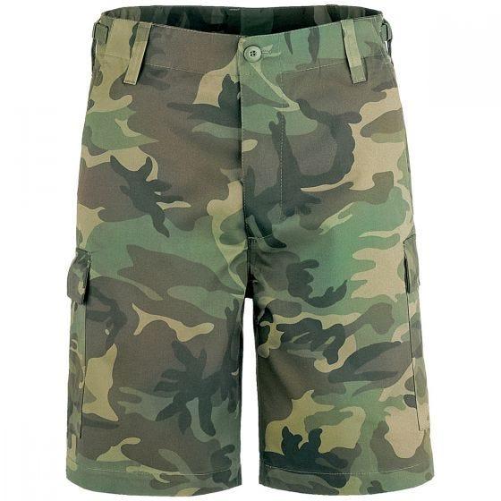 Brandit shorts US Ranger in Woodland
