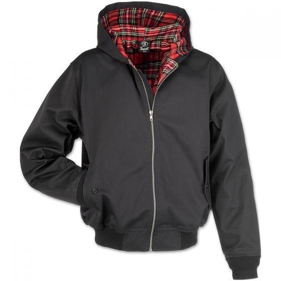 Brandit giacca con cappuccio Lord Canterbury in nero