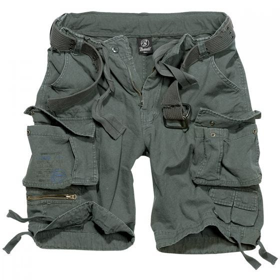 Brandit shorts Savage Vintage Anthracite