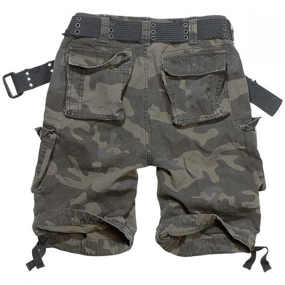 Brandit shorts Savage Vintage in Dark Camo