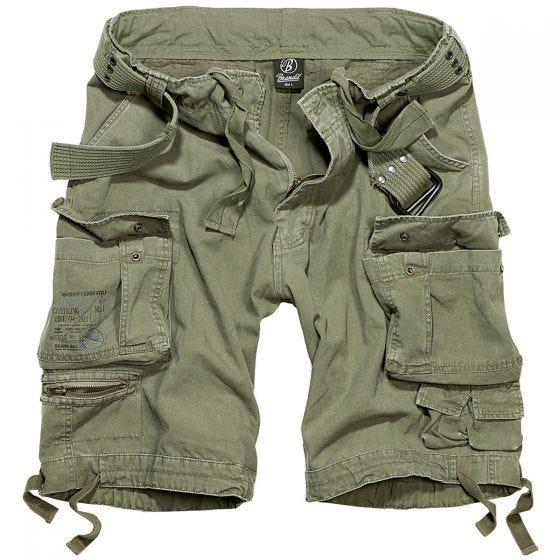 Brandit shorts Savage Vintage in verde oliva