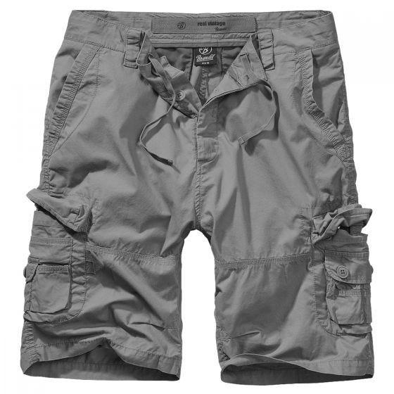 Brandit pantaloncini Ty in Charcoal Grey