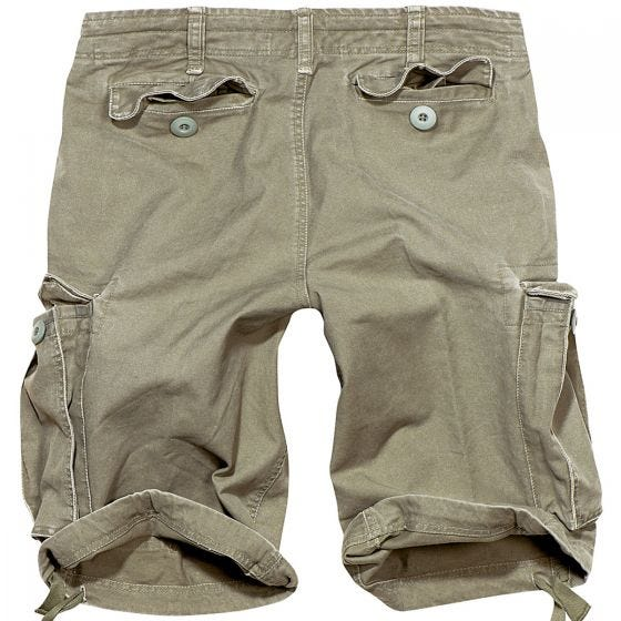 Brandit shorts Vintage Classic in verde oliva