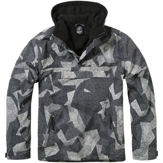 Brandit giacca a vento in Night Camo Digital
