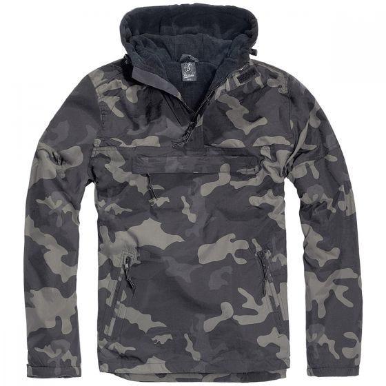 Brandit giacca a vento in Dark Camo
