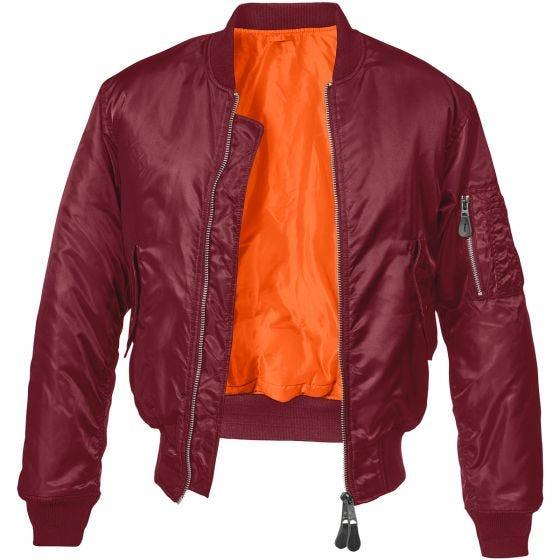 Brandit giacca MA1 in bordeaux