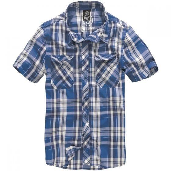 Brandit camicia Roadstar in blu