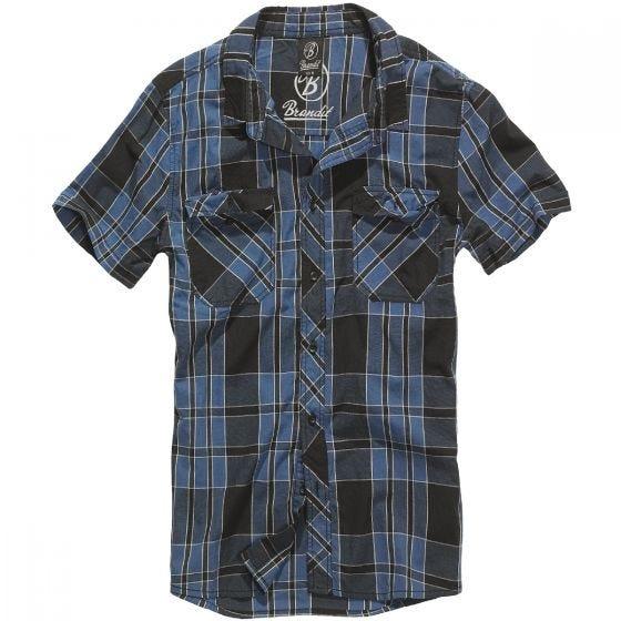 Brandit camicia Roadstar in Indigo