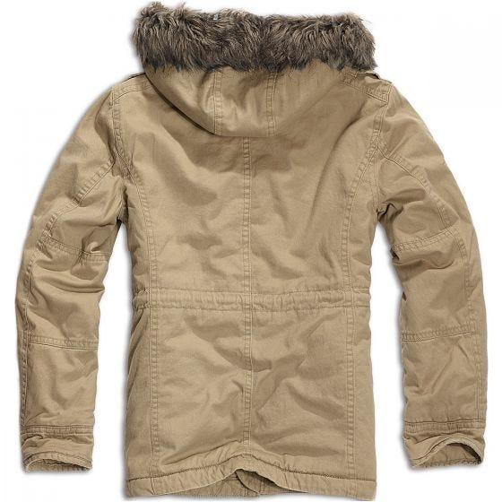 Brandit giacca Vintage Explorer in Camel
