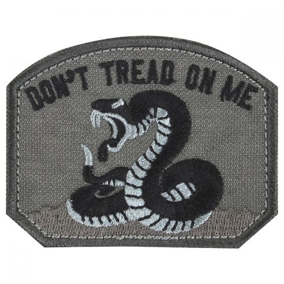 "Condor toppa con scritta ""Don't Tread On Me"" in nero"