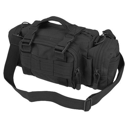 Condor deployment bag in stile modulare in nero