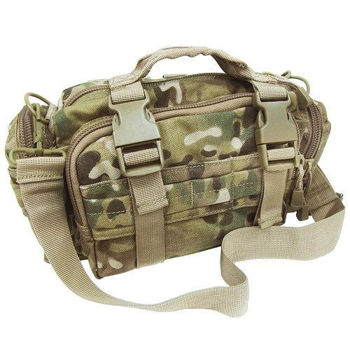 Condor deployment bag in stile modulare in MultiCam