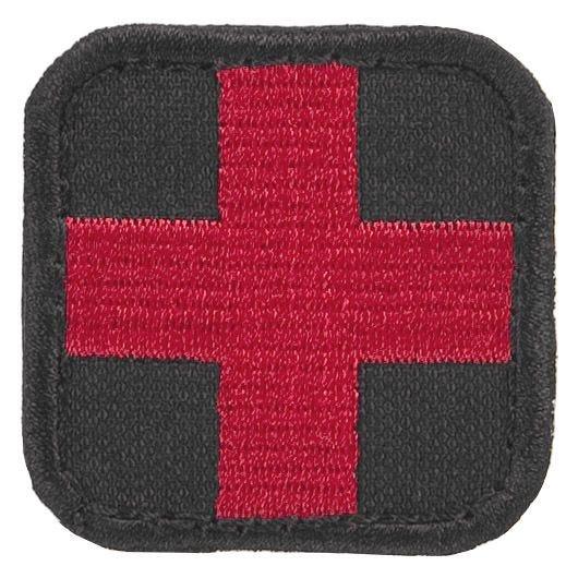 Condor patch medico in nero/rosso