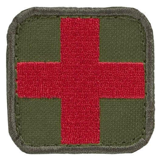 Condor patch medico in Olive Drab/rosso