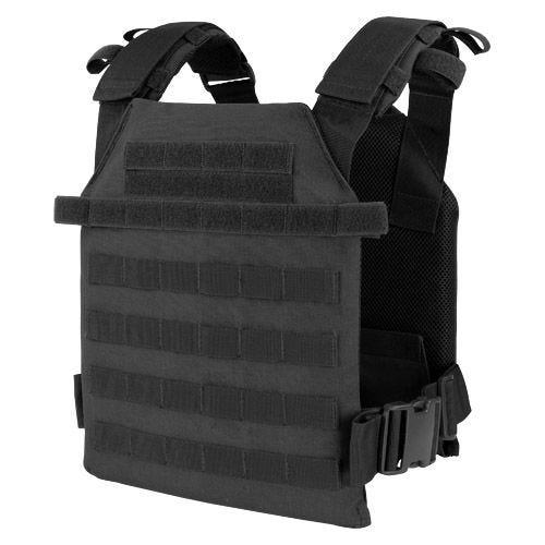 Condor plate carrier Sentry leggero in nero