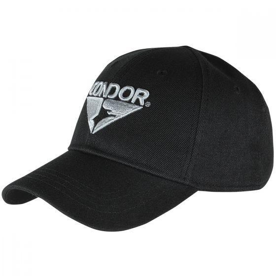 Condor cappello Signature Range in nero