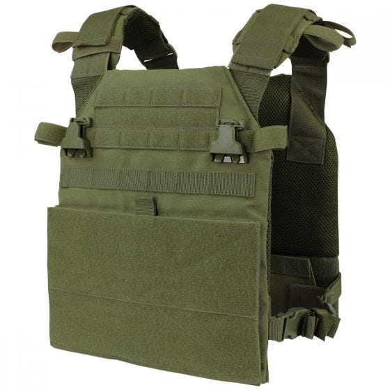 Condor Plate Carrier Vanquish in Olive Drab