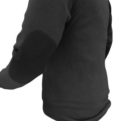 Condor maglione in pile con zip sul colletto in nero